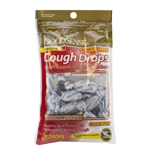 Good Sense Cough Drop Cherry SF